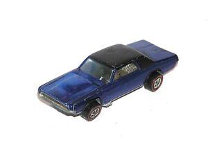 1968 Hot Wheels Redline Custom T-bird THUNDERBIRD US BLUE ALL ORIGINAL & INTACT!