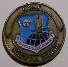 Survival Evasion Resistance Escape SERE Survival School Air Force Challenge Coin
