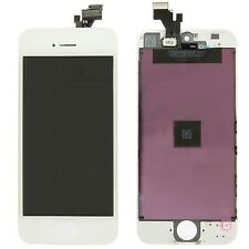 Lot of 10 White LCD Screen Display + Touch Glass Digitizer Assembly for iPhone 5