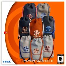 Sega Dreamcast pull string canvas VMU Pouches