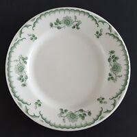 """Shenango Chardon Rose Green Side Plate Floral RimRol Diner Restaurant 6"""""""