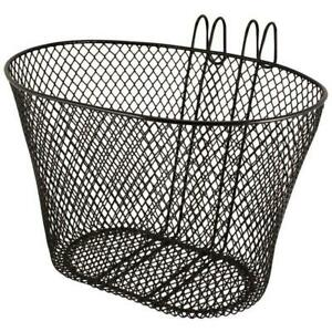 BIKE/BICYCLE METAL MESH BASKET & QUICK RELEASE BRACKET SHOPPING HANDLE UK