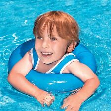 Trainer Child Baby Float Swimming Pool Inflatable Outdoor Water Fun Tube Blue