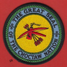 ** CHOCTAW NATION OKLAHOMA TRIBAL SEAL PATCH