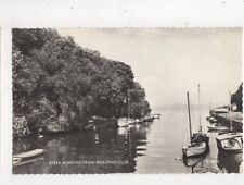 River Almond From Boating Club Lothian RP Postcard 840a