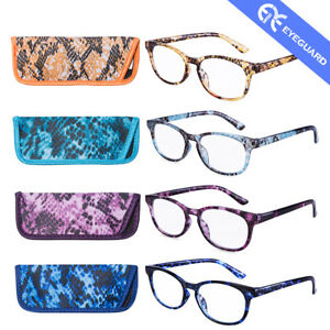 EYEGUARD Reading Glasses Stylish Fashion colorful women Readers Classic Design