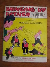 vintage 1973 Bringing Up Father George McManus BOOK Maggie Jiggs HB DJ Bonanza