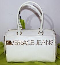Borsa Versace Jeans Bag bianco bauletto ecopelle a spalla donna