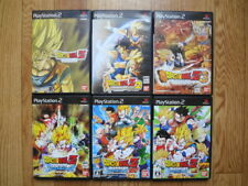 Sony Playstation 2 PS2 Dragon Ball Z 1 2 3 Sparking Neo Meteor Set Retro Game JP