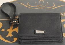 Ralph Lauren Small Black Wristlet Wallet + Long Strap Included 5.25