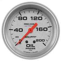 "Equus Engine Oil Pressure Gauge 8444; 8000 Series 0-100 psi 2-5//8/"" Mechanical"