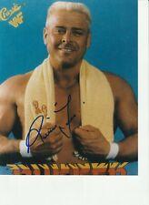 RONNIE GARVIN ORIGINAL SIGNED WRESTLING PHOTO  8 X 10 COA NWA WWE