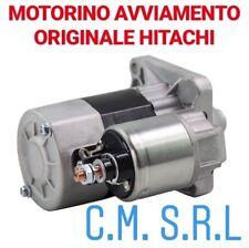 MOTORINO AVVIAMENTO ORIGINALE HITACHI LANCIA MUSA 1.4 BENZINA-GPL