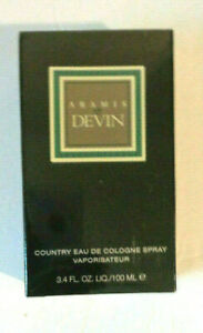 Aramis Devin eau de cologne spray 3.4 fl.oz /100ml authentic