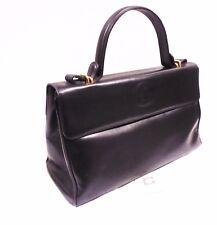 GHERARDINI Handbag Borsa a mano da Donna Pelle Nera Alta Qualità