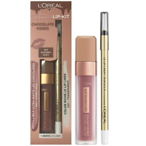 L'Oréal lip lipstick liner  Chocolate Kisses Lip Kit 842 Candy Man  Lip Liner