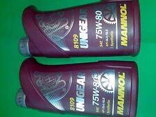 2L MANNOL UNIGEAR Getriebeöl API GL-4 GL-5 75W-80 75W80 WSD-M2C200-C,B712330