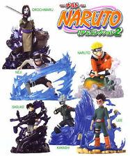 Bandai Naruto Real Shippuden Ninja Collection Gashapon Figure Part 2