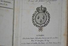 ALMANACH DE LA COUR DE LA VILLE ET DES DEPARTEMENTS ANNEE 1820