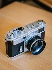 Nikon S3 2000 Limited Edition Film Camera +  Voigtlander 35mm SC f2.5 lens