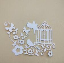 Birdcage flower Metal Cutting Dies Frame Scrapbooking Embossing Stencils Craft