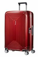 Samsonite Neopulse  Spinner M Suitcase, 69 cm, 74 Liter, Red (Metallic Red)