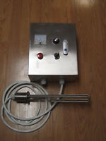 "Heater controller with 2"" Tri clamp element 220V 4500W Moonshine still"