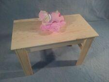 Kindertisch Holztisch Massivholz Kiefer Unbehandelt Neu