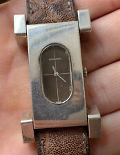 1970s Solid Silver Longines Serge Manzon Collection Ref 5014