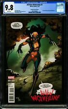ALL-NEW WOLVERINE #1 (Marquez Variant) CGC 9.8 NM/MT 1st Laura Kinney as Wolvie!