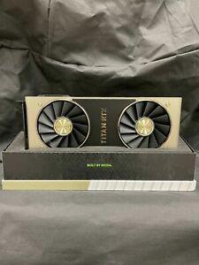 Nvidia Titan RTX 24GB, GDDR6, , with original box, manuals, etc...
