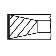 MAHLE ORIGINAL Piston Ring Kit Piston Ring Kit 040 06 N0