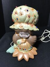 Ceramic Handmade Light Girls Room Strawberry Shortcake's sister Vintage