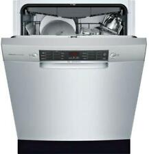 "Bosch 800 Series 24"" 44dBa 15 Setting Full C Dishwasher Sge68X55Uc Perfect front"