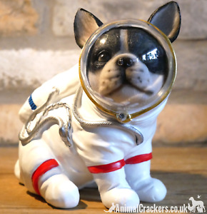 French Bulldog astronaut in Space Suit ornament decoration Frenchie lover gift