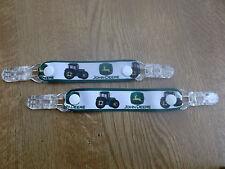 Pr Mitaine Gant Clips Bébé Fille Garçon Enfant Tracteur Vert sur Blanc ferme Anniversaire