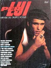 PER LUI 15 1984 Moda Anni 80 Fashion Milan Snowdon Bruce Weber Matt Dillon Sting