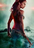 TOMB RAIDER Movie PHOTO Print POSTER Film Art Alicia Vikander Lara Croft 001