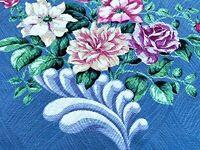Sweet Nanas Front Porch Pillows Barkcloth Vintage Fabric 1930's Unused Yardage