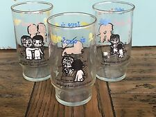 Vintage Set of 3 Love Is...Glasses - Copyright Los Angles Times 1975 14oz GVC!