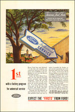1945 WW2 era AD FORD Authorized Service Factory Program Universal Service 060217