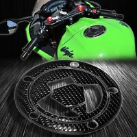 Perforate Black Gas Tank Fuel Cap Cover Protector Pad 07+Ninja ZX-6R/10R/14R/650