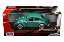 MOTORMAX 1966 VW VOLKSWAGEN BEETLE 1/24 DIECAST MODEL CAR GREEN 73223GRN