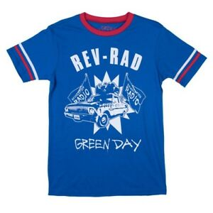 Green Day Rev-Rad Revolution Radio Chicago Athletic T-Shirt SZ Small NEW