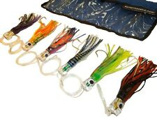 Billfish Saltwater Fishing Lure Variety Pack - Assorted Colors (6 Pack)