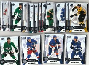 19/20 2019/20 UD Credentials Veteran Base Card Pick Choose Your Player 1-50