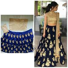 Wedding wear Lehenga Designer Indian Latest saree Bollywood lengha choli