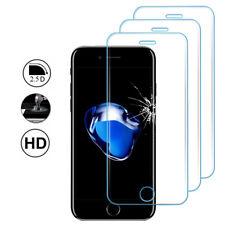 """3x verre blindé Apple iPhone 7 4.7 """" Film de protection complet bord COURBURE"""
