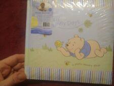 """Disney Baby Winnie the Pooh My Sweet Sunny Days Photo Album Baby Blue 7"""" x 7.5"""""""
