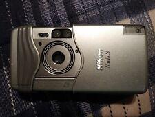Nikon Nuvis S Point & Shoot Aps Film Camera